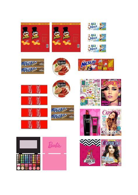 printable barbie house mini produtos e acess 243 rios para bonecas barbie monster