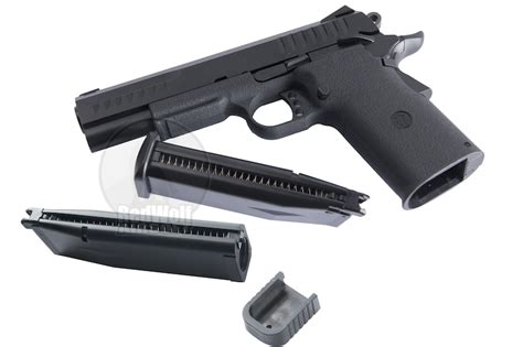 Magazine Kjw Kp05 Gas kj works kp 08 hi capa pistol dual magazine version buy airsoft gas back pistols