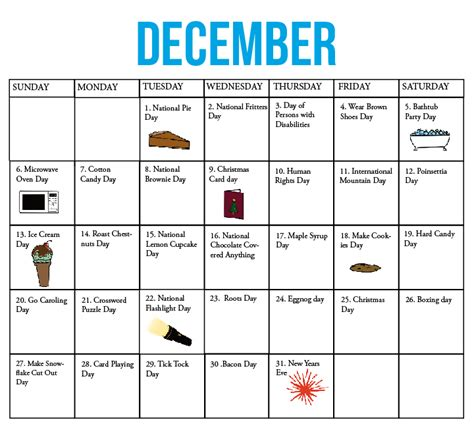 december 2015 calendar with holidays new calendar the kirkwood call fun national holiday calendar december