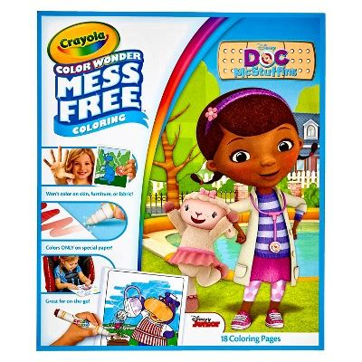 crayola giant coloring pages target crayola 174 color wonder refill coloring book doc mcstuffins