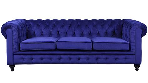 Funky Chesterfield Sofa by Divano Roma Furniture Velvet Scroll Arm Tufted