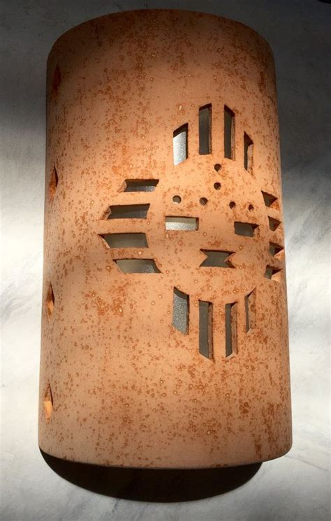 southwestern outdoor lighting outside wall sconce zia sunface southwestern wall sconce