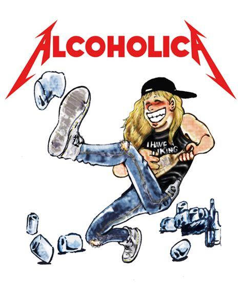 Alcoholica Tshirt alcoholica t shirt process 06 by celestinocomix on deviantart