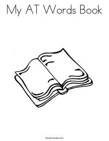 book coloring pages my at words book coloring page twisty noodle