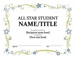 student award certificate template certificates all student certificate back to