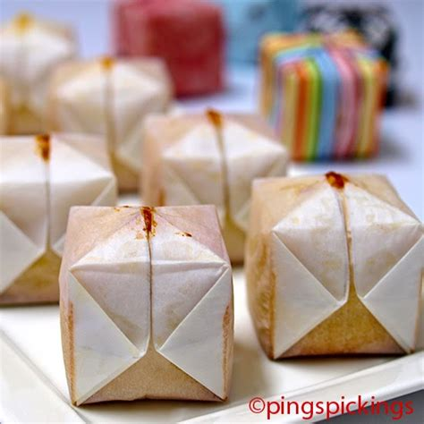 How To Make Origami Cake - ping s pickings origami cake