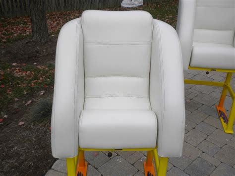 cigarette boat seats for sale cigarette top gun bolster seats and stands offshoreonly