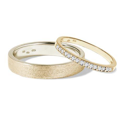 Eheringe Gold Mit Diamanten by Klenota Ehering Mit Diamanten Gold Trauringe