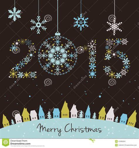 imagenes virtuales de año nuevo 2015 tarjeta del a 241 o nuevo 2015 ilustraci 243 n del vector imagen