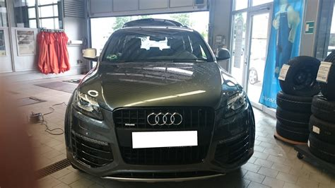 Anschrift Audi by Audi Q7 Ts Folienstyling