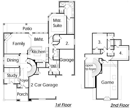 house plans with 4 car attached garage 3 car attached garage house plans home design and style