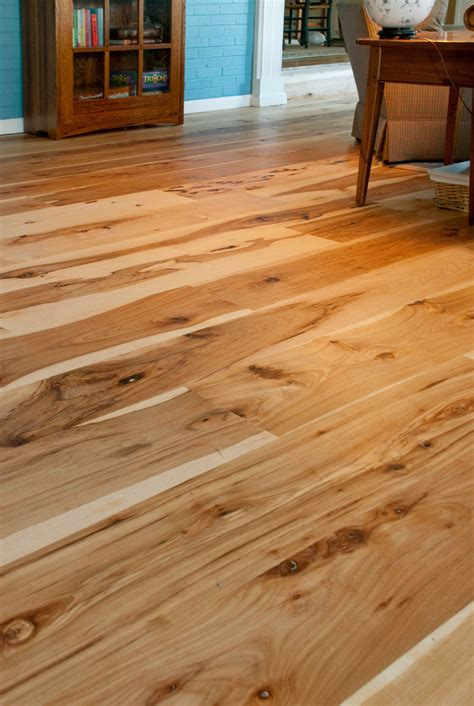 harvest hickory flooring mountain lumber