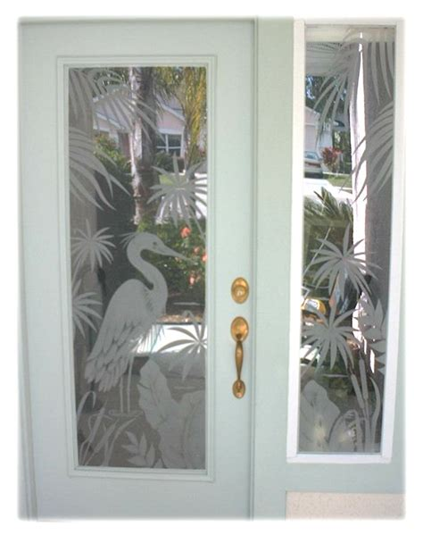Etched Glass Decals For Doors Etched Glass Custom Glass Etching And Frosted Window