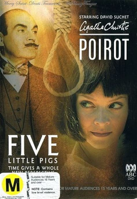 libro five little pigs poirot poirot five little pigs agatha christie movies books series series libros y pel 237 culas