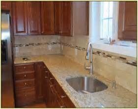 Ideas For Backsplash In Kitchen travertine tile backsplash ideas kitchen home design ideas