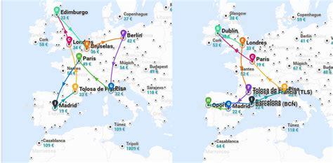 como hacer   por europa barato en avion ejemplos guia  cost