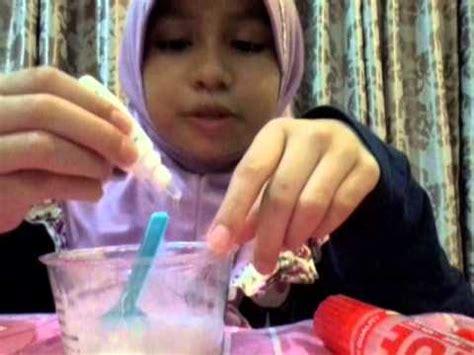 cara membuat milky slime how to make milky slime kl12 cara membuat milky slime tanpa borax youtube