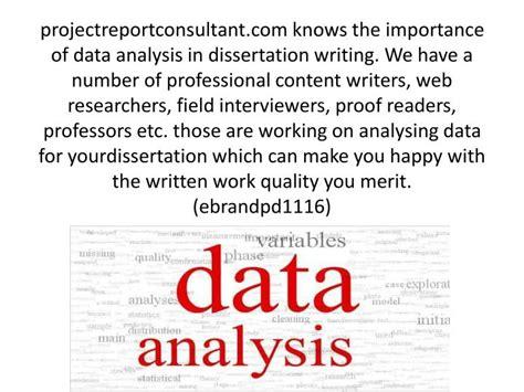 dissertation analysis ppt data analysis services for dissertation writing