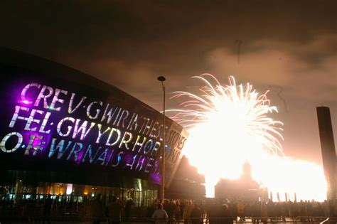cardiff bay new years ten years since the wales millennium centre opened it s ready to the anniversary in