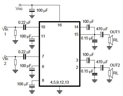 integrated circuit audio lifier stereo audio lifier with ic 2025 theory
