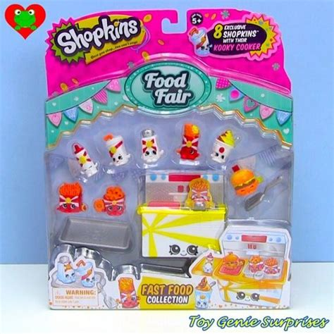 Shopkins Food Fair Fast Food Collection 1 new food fair fast food collection playset shopkins
