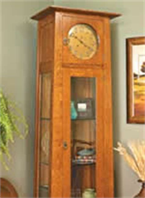 grandfather clock woodworking plans how to build grandfather clocks 4 free plans