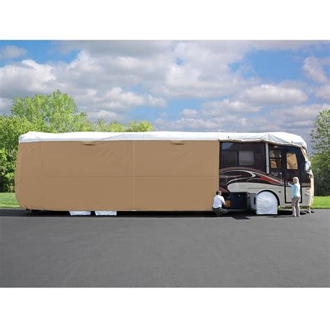 rv slipcovers elements all climate rv cover class a 31 34 elements
