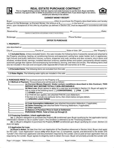 owner financing contract template madrat co
