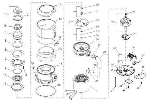 garbage disposal parts diagram replacement parts for insinkerator model 777ss garbage
