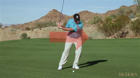 how to stop sliding in golf swing bighorn golf club stop the slide youtube