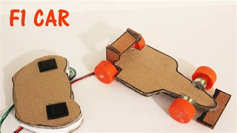 How To Make A F1 Car Out Of Paper - how to make a battery operated f1 car with remote