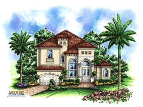 Small Mediterranean House Plans | one story mediterranean house plans small mediterranean