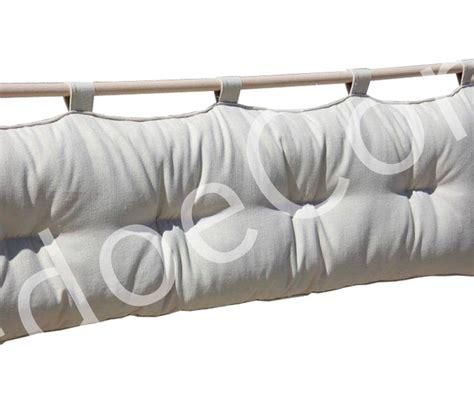 testate letto con cuscini testiera letto a cuscino bali basic ecr 249 cotone