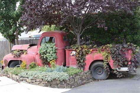 Garden Trucking by Truck W Flower Bed Free Parking