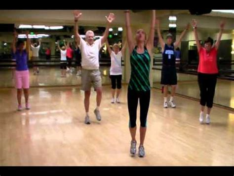 Fit Classes - senior fitness class quot to the world quot routine