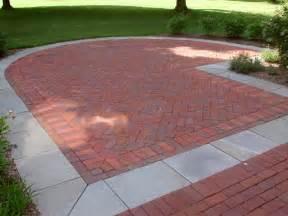 sted concrete backyard ideas concrete and brick patio best brick 2017