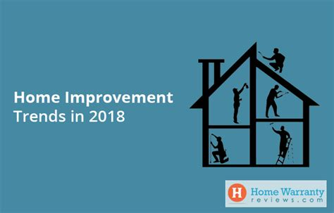 home improvement trends in 2018
