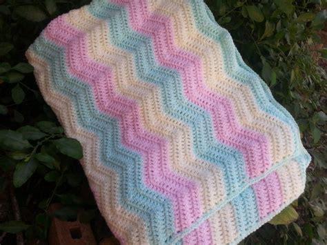 free easy ripple crochet baby blanket pattern my crochet raising mimi poochiebaby new blankets for sale