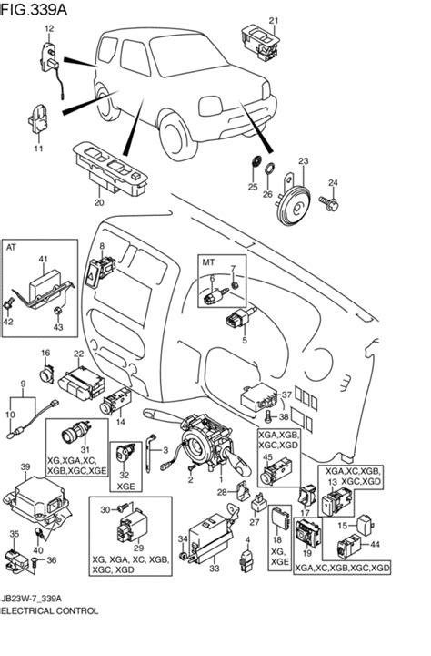 Suzuki Jimny Parts Catalogue Electrical For Suzuki Jimny Jb23w 2010 2011