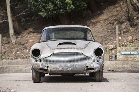 Aston Martin Restoration Project For Sale 1962 Aston Martin Db4 On The Market For 163 220 000 Daily