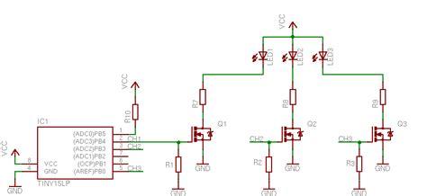 D4184 High Power Dual Mosfet Driver Modul Untuk Pwm Switch Trigger power rgb led controller skema elektronik terbaru
