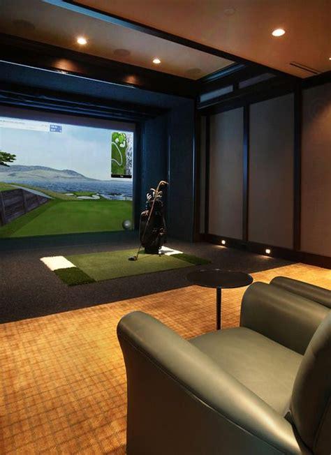 images  golf simulator room design ideas