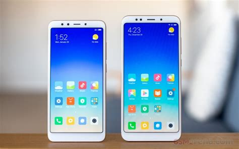 erafone xiaomi redmi 5 plus xiaomi redmi 5 plus in for review gsmarena com news
