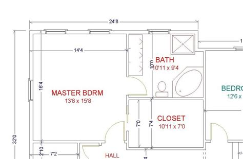 bathroom floor plans with walk in closets master bath layout baths walk in layout