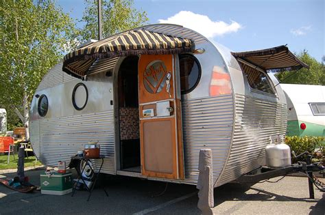 Trailer Kitchen Cabinets Vintage Airfloat Trailers From Oldtrailer Com