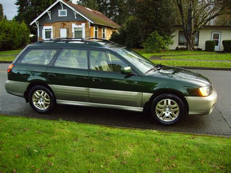 outback subaru green 2003 subaru outback limited for sale awd auto sales