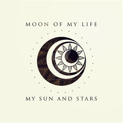 moon and stars l you are my sun and stars the moon of my life quotes