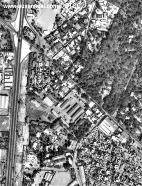 Les plans et vues aériennes des villes du Sénégal- Au