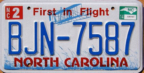 Nc Vanity Plates by Carolina 3 Y2k