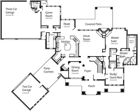 large house plan large ranch house plans floor design country house s with open nature french plans